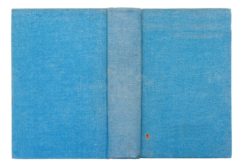Antique book cover royalty free stock photography