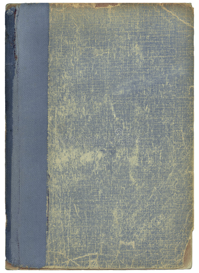 Antique Book Cover royalty free stock image