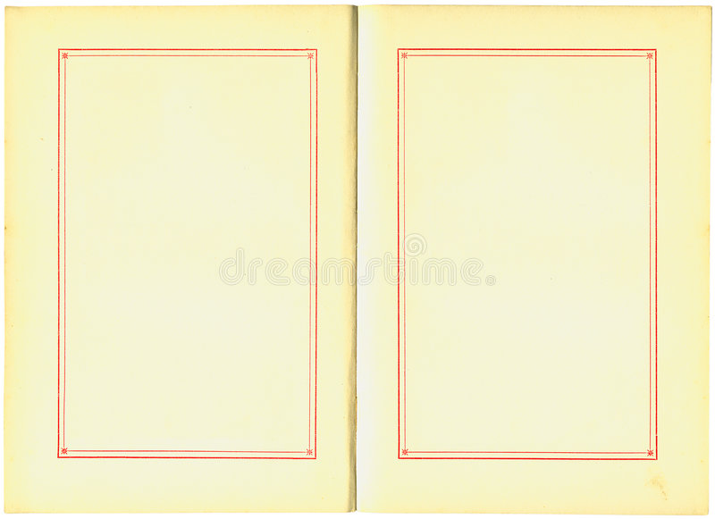 Download Antique Book Pages stock illustration. Image of blank - 3296629