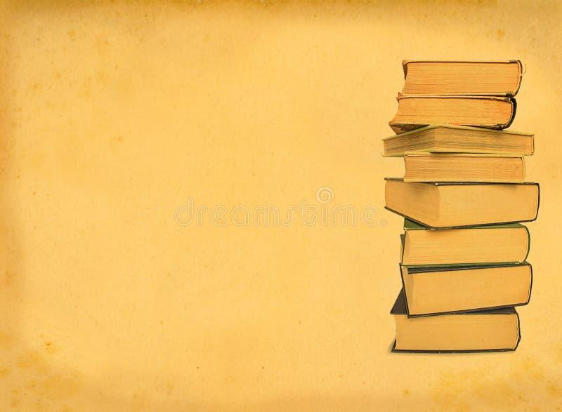 Antique books royalty free stock photo