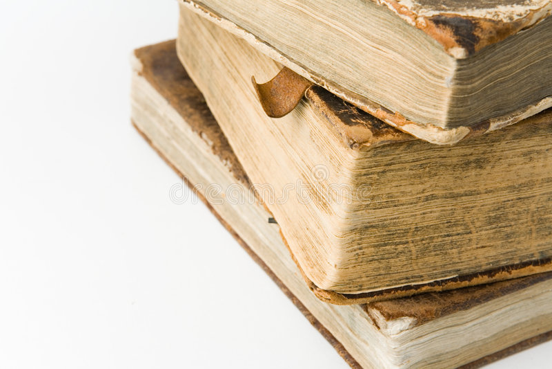 Antique Books royalty free stock photos