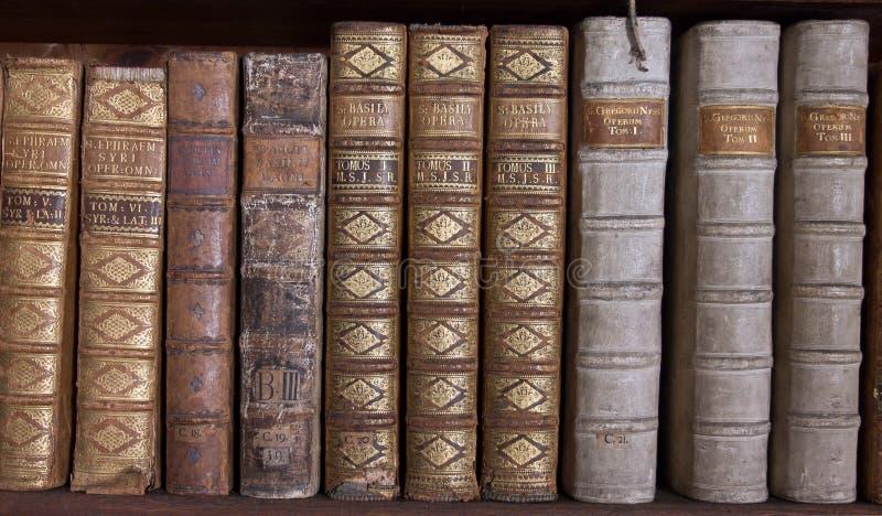 Download Antique Books On Bookshelf Royalty Free Stock Photos - Image: 25522078