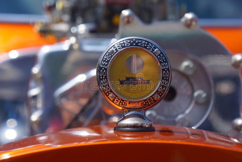 Boyce Motometer Radiator Hood Ornament stock photos