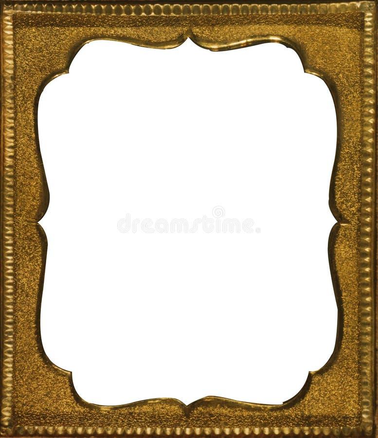 Antique Brass Frame royalty free stock photos