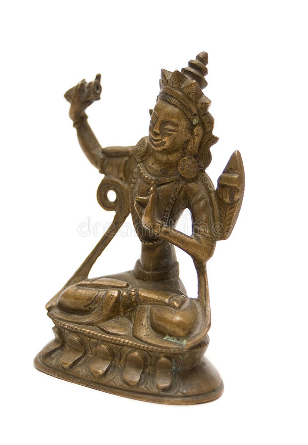 Download Antique Bronze Sculpture Of Buddha Stock Images - Image: 11156364