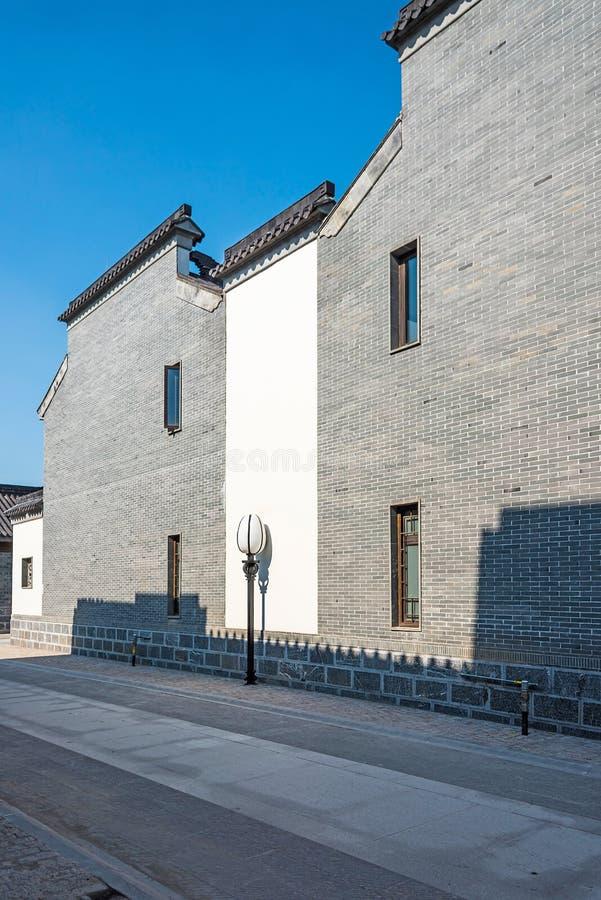 Antique buildings. This photo was taken in laomendong scenic spot, Nanjing city, Jiangsu province, china stock photos