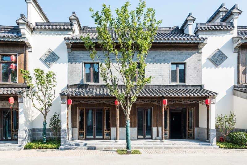 Antique buildings. This photo was taken in laomendong scenic spot, Nanjing city, Jiangsu province, china royalty free stock photo