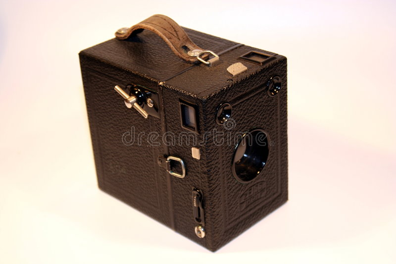 Antique Camera - 2 Royalty Free Stock Photo