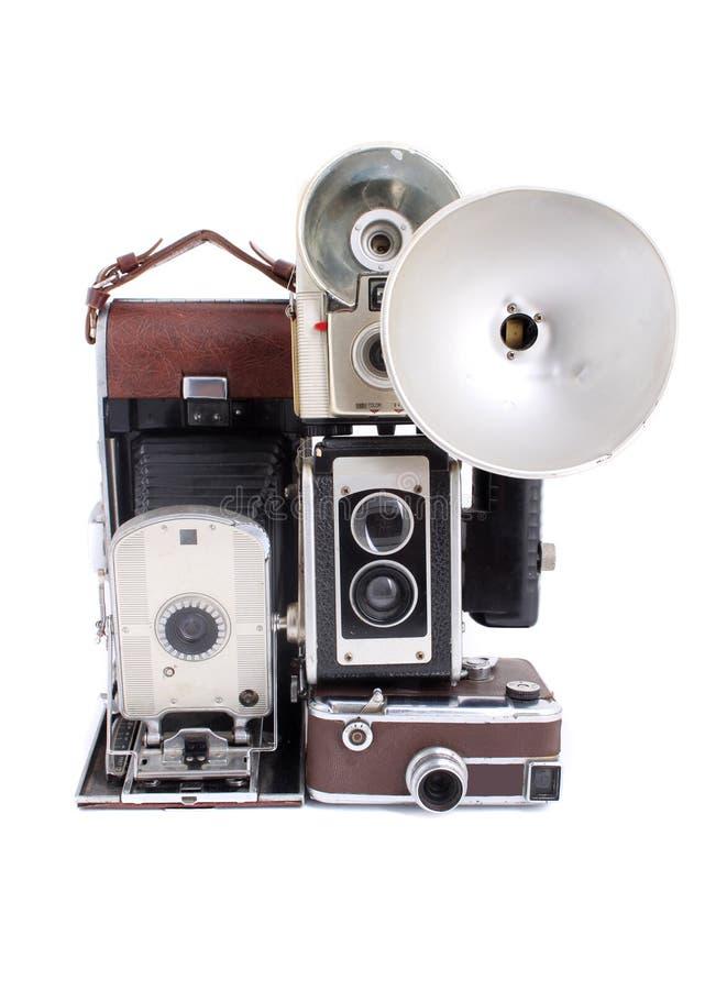 Download Antique cameras stock image. Image of retro, obsolete - 10868083