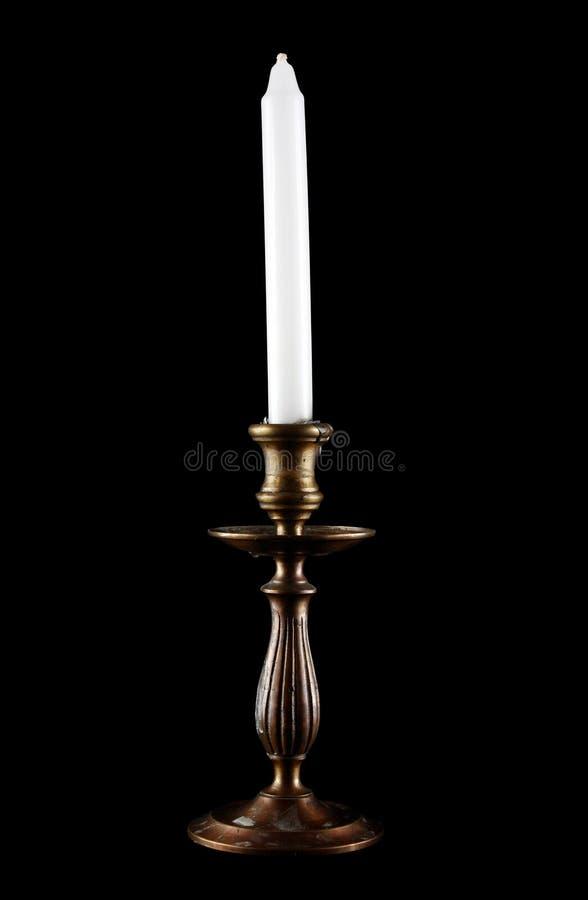 Antique candlestick stock photos