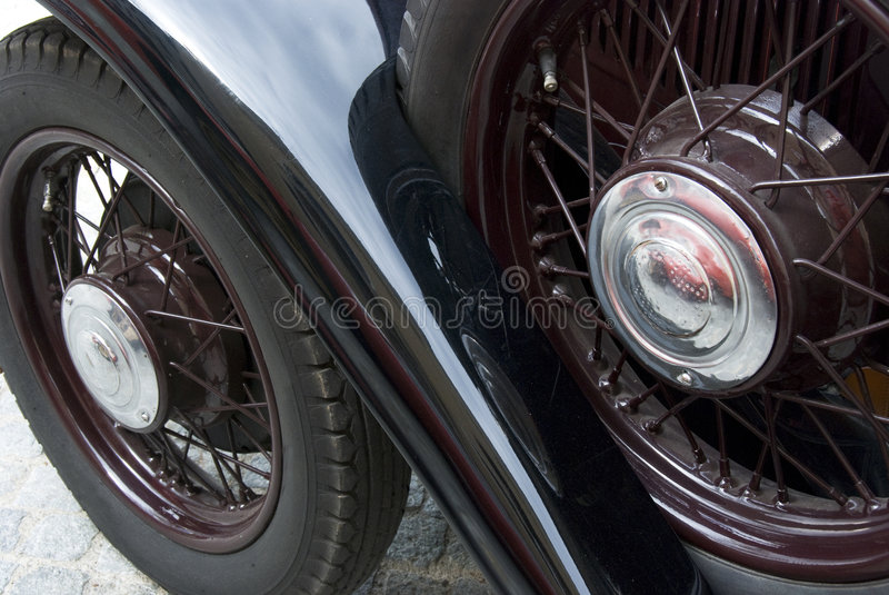 Antique car royalty free stock photo