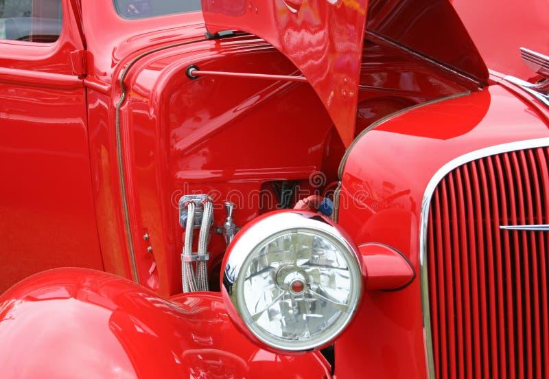 antique car red στοκ εικόνες με δικαίωμα ελεύθερης χρήσης