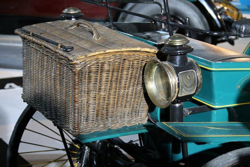 Antique car trunk