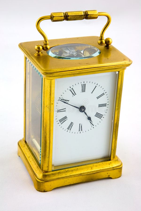 Free Antique Carriage Clock Stock Image - 1863371