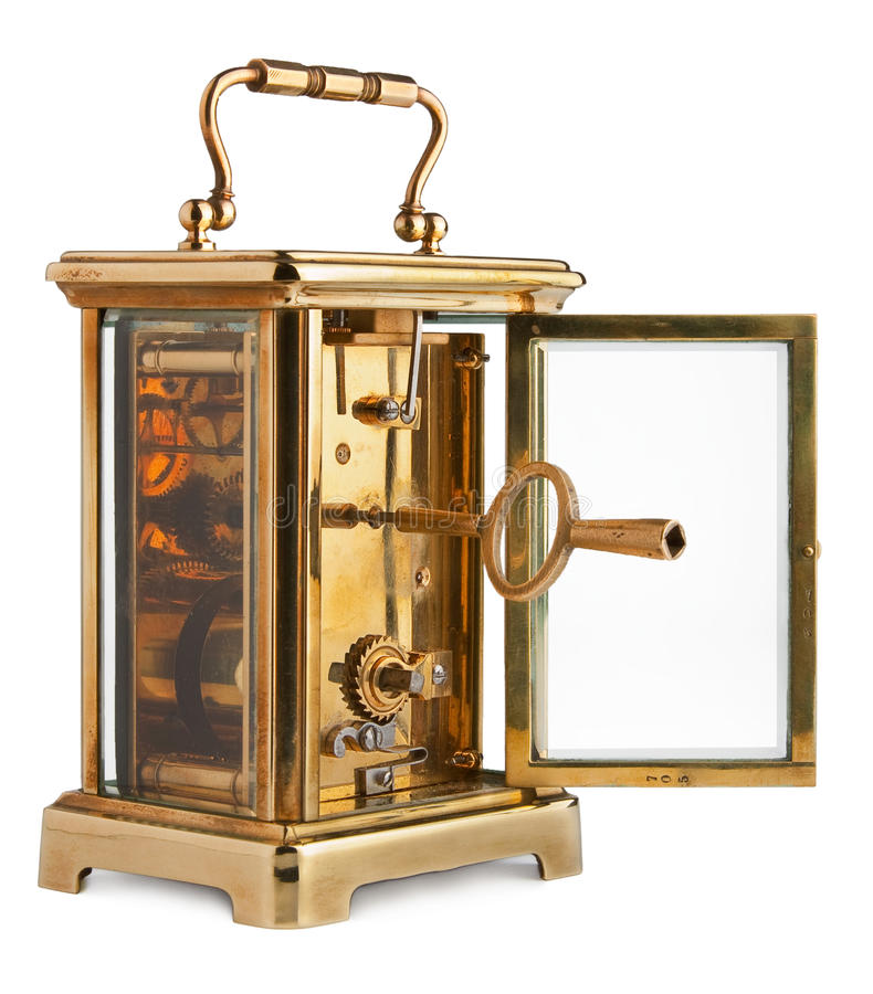 Free Antique Carriage Clock Royalty Free Stock Image - 24524176