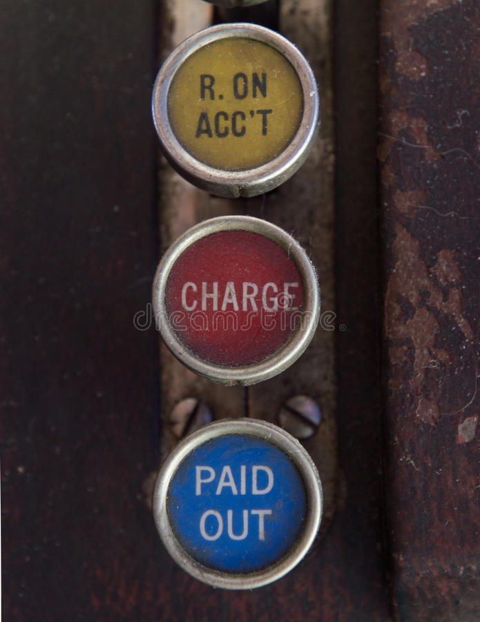 fb1dd342e882 Antique Cash Register Keys With Received On Account