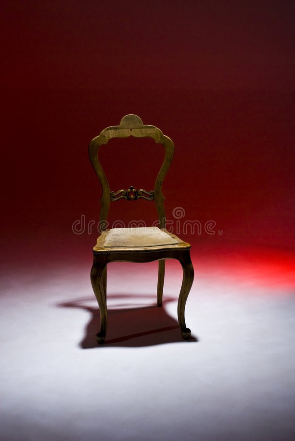 Antique Chair royalty free stock images