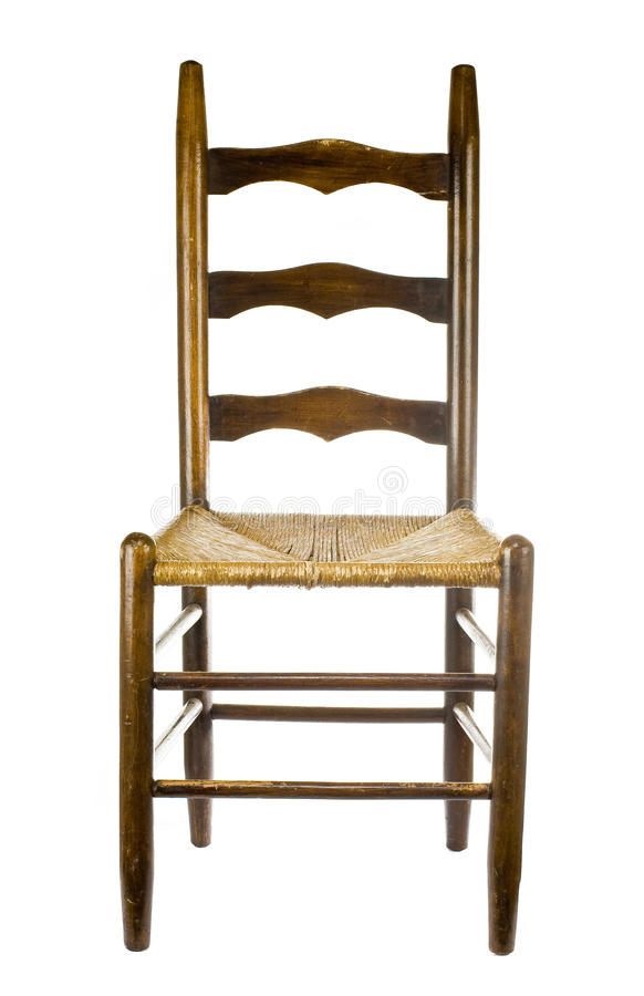 Download Antique Chair Isolated On White Back Stock Image - Image: 16576033