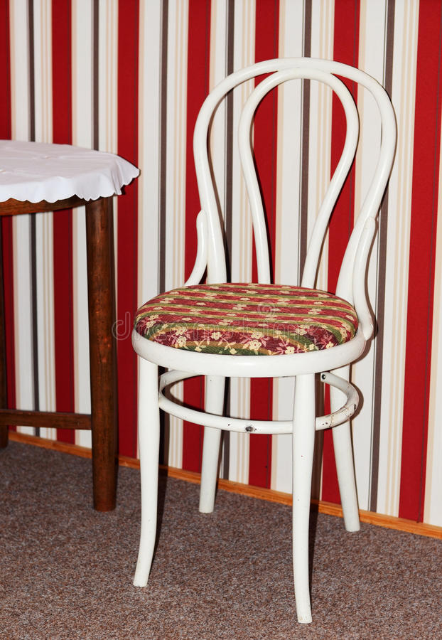 Antique chair royalty free stock photos