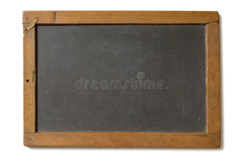 Antique Chalk Slate royalty free stock photos