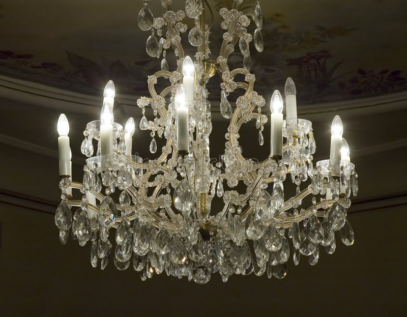 antique chandelier στοκ φωτογραφίες