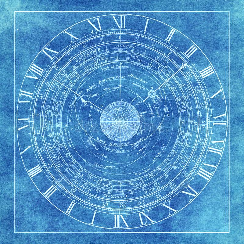 Astrology and time stock image  Image of mystical, light - 12149713