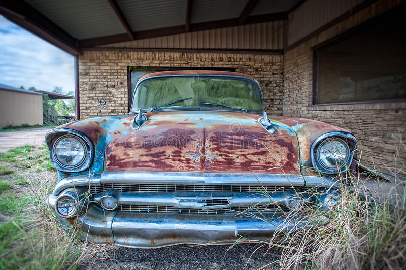 Antique Chevrolet Car royalty free stock photography