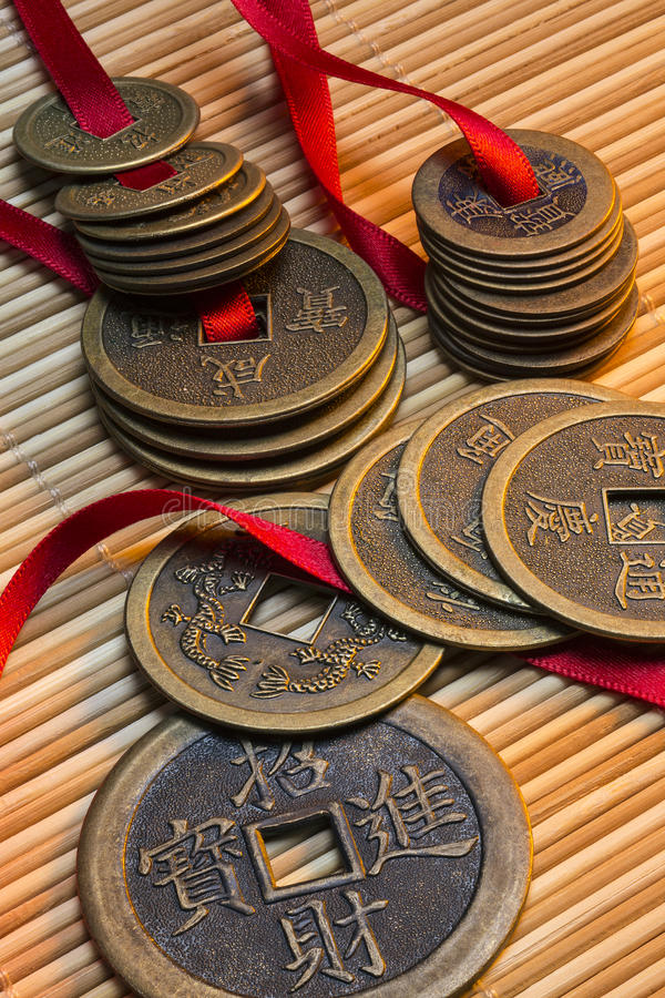 Antique Chinese Coins - China royalty free stock images