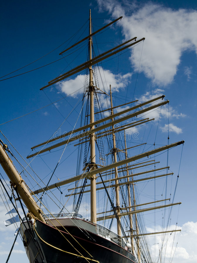 Download Antique Clipper Ship stock image. Image of city, york - 8569723