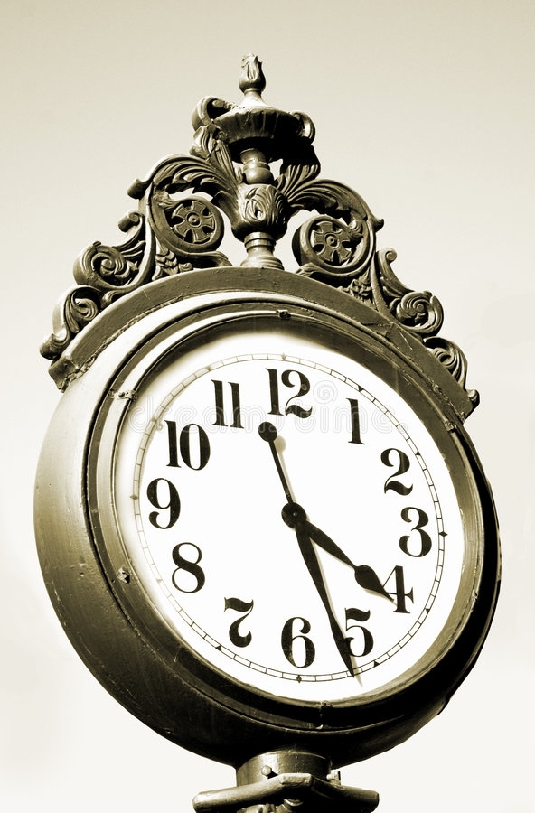 Download Antique Clock stock photo. Image of object, face, antique - 104738