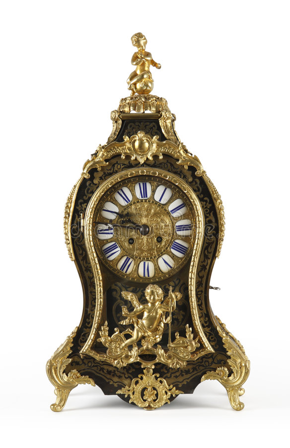 Free Antique Clock Stock Photography - 4574222