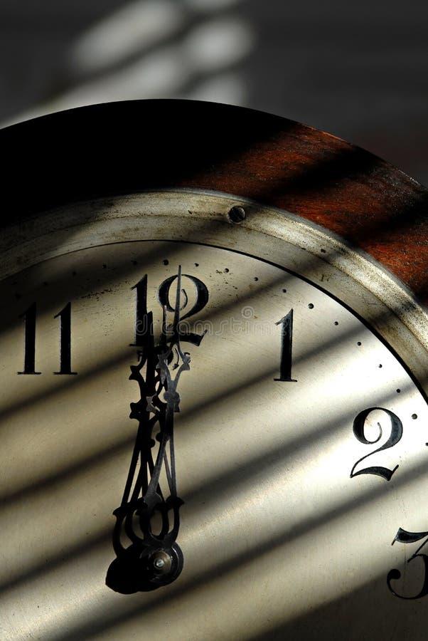 Antique Clock royalty free stock photo