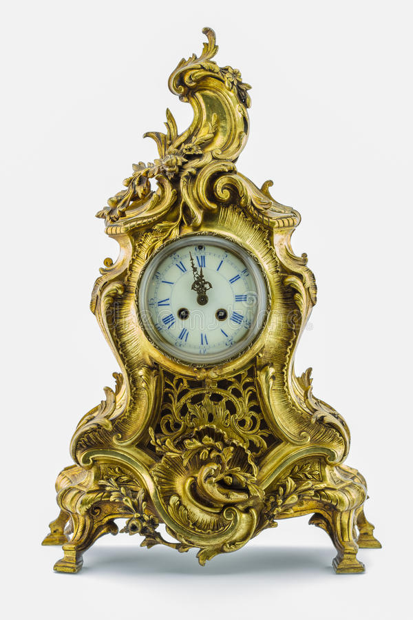 Antique clock stock images