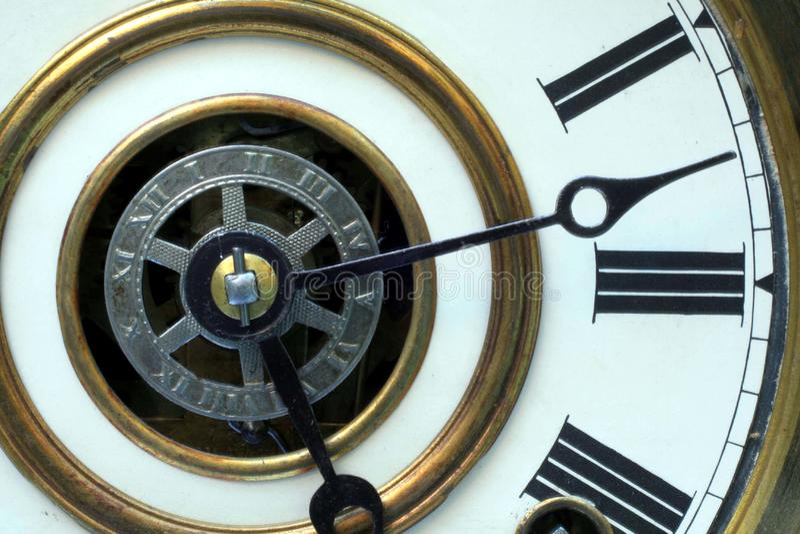 Antique Clock Face stock photo
