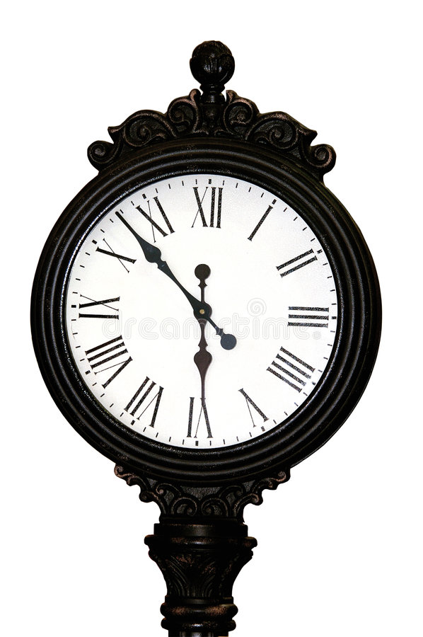 Download Antique Clock Face stock image. Image of white, tattler - 173977