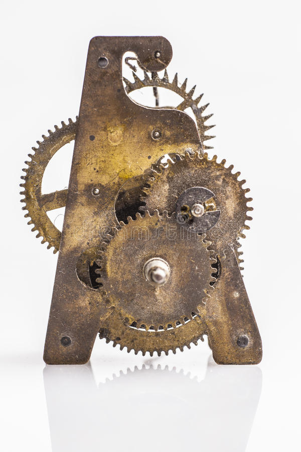 Download Antique Clock Gears Royalty Free Stock Photos - Image: 29716968