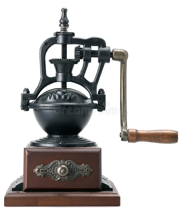 Download Antique coffee grinder stock photo. Image of beans, ground - 37747650