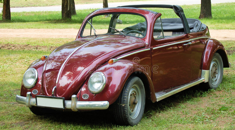Download Antique convertible car stock image. Image of beetle, vehicle - 5021179