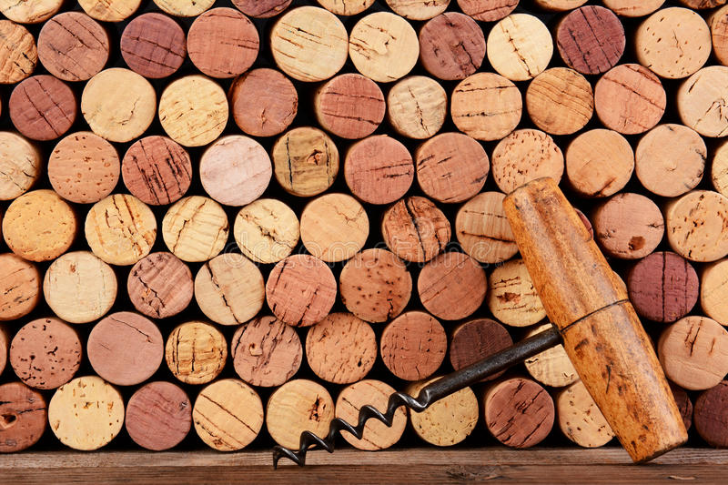 Antique Cork And Corks Royalty Free Stock Photo