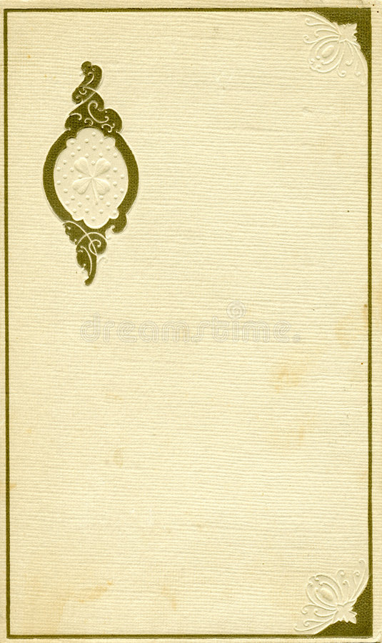 Download Antique Cover With Design Stock Photo - Image: 518460
