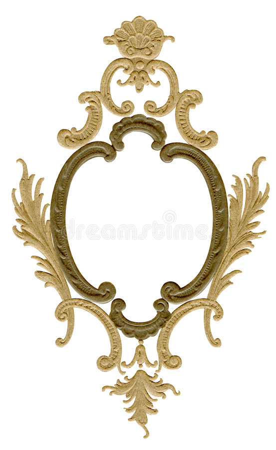 Download Antique design frame stock image. Image of formal, picture - 509229