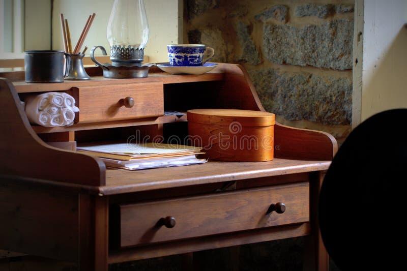 Download Antique Desk Scene stock photo. Image of paperwork, retro -  109870292 - Antique Desk Scene Stock Photo. Image Of Paperwork, Retro - 109870292