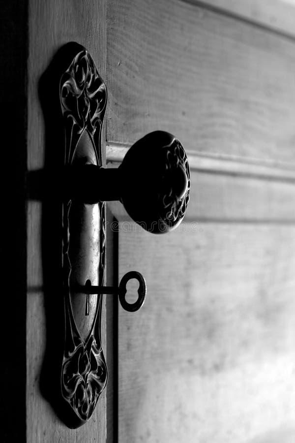 Download Antique Door And Door Handle With Skeleton Key In Stock Image -  Image: 25868439 - Antique Door And Door Handle With Skeleton Key In Stock Image