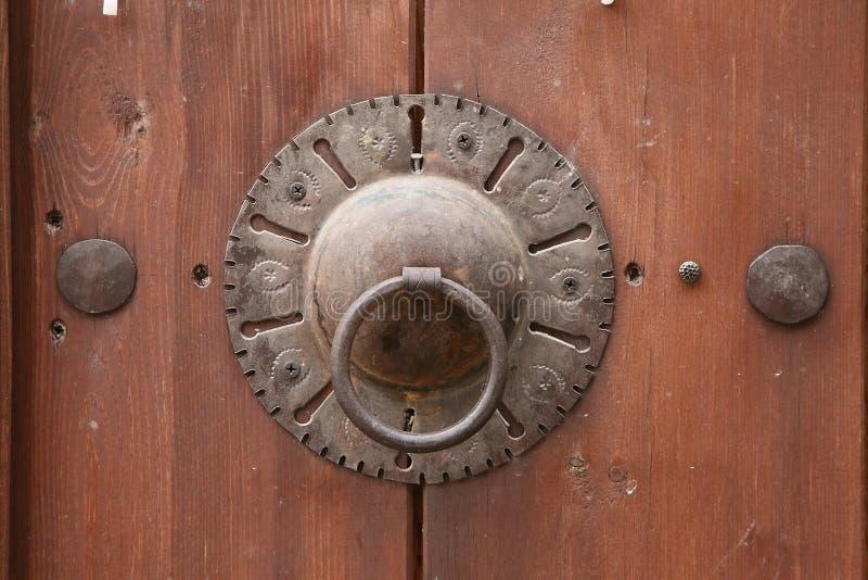 Antique Door Handle royalty free stock photography