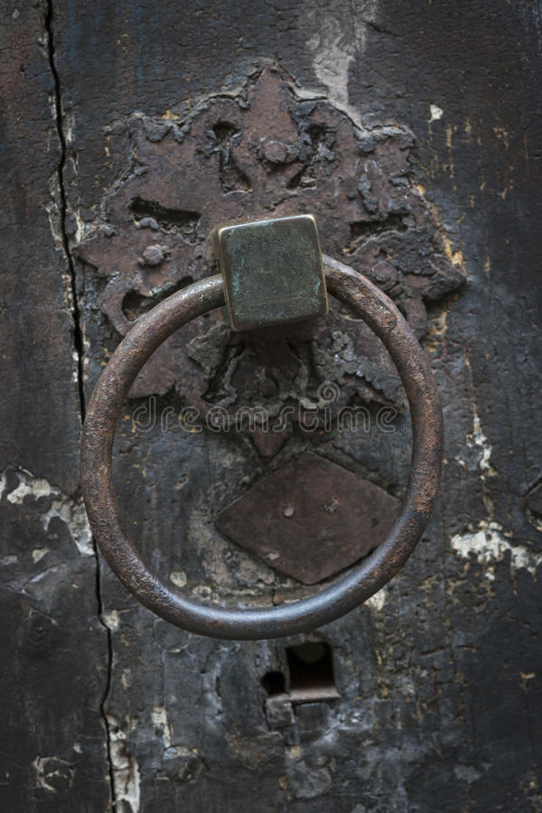 Download Antique Door Knocker Stock Image. Image Of Rusty, Shaped   90836099