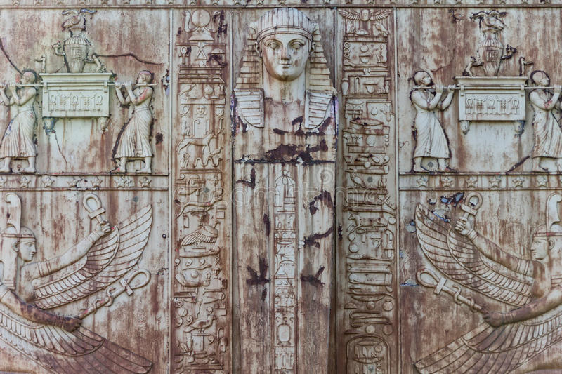 Download Antique egypt pattern stock image. Image of background - 26609053