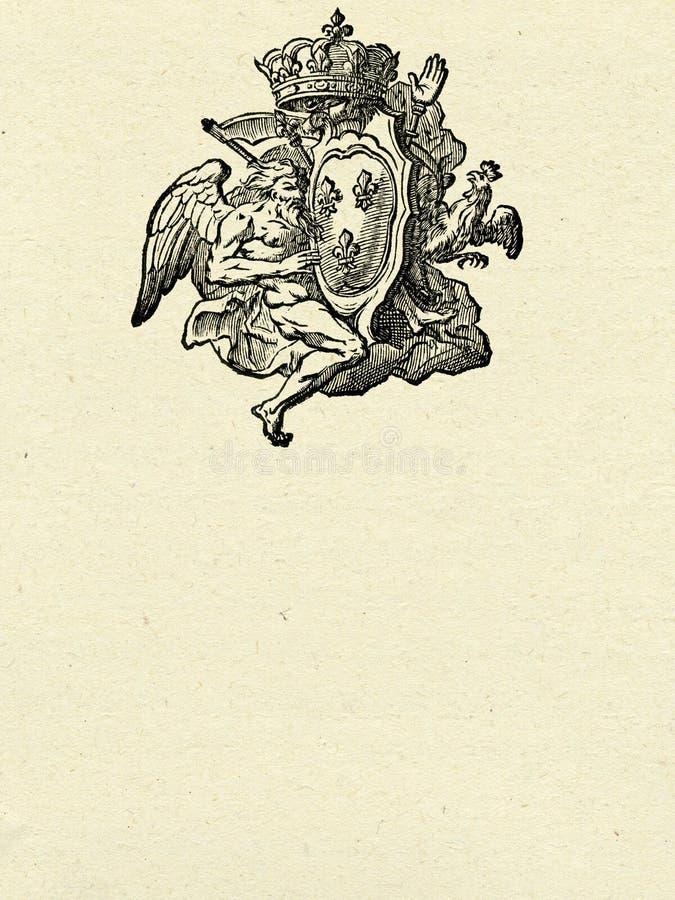 Download Antique Emblem Stock Image - Image: 12557991