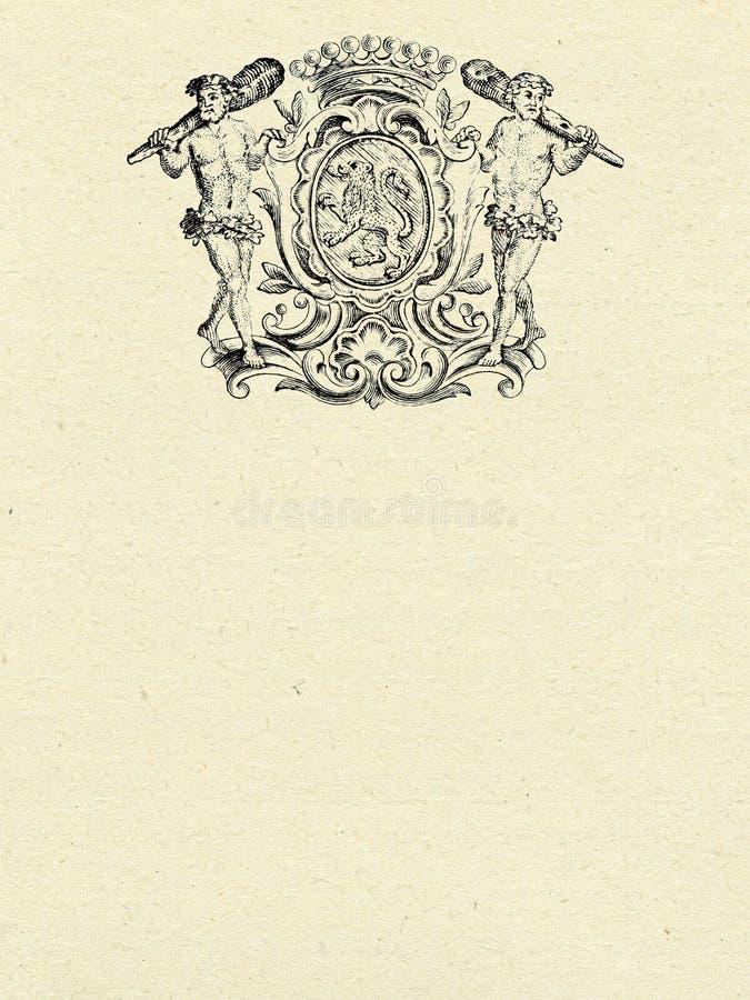 Antique Emblem Stock Photos