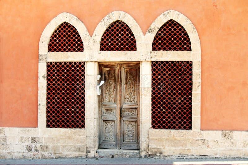 Download Antique entrance stock photo. Image of architecture, orange - 7219522