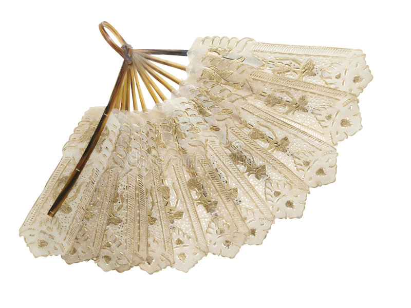Antique Fan royalty free stock image